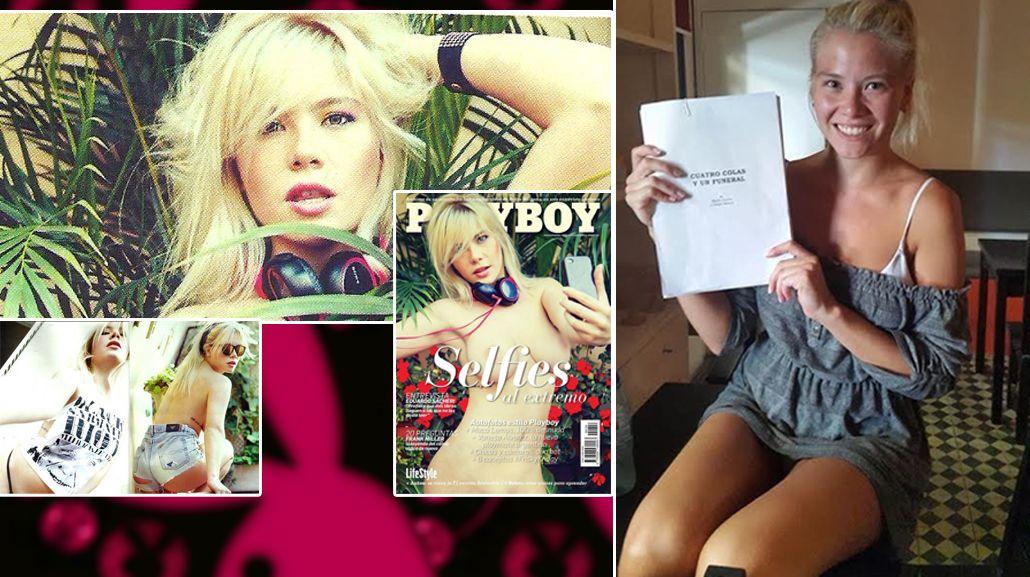 Macarena Lemos, la chica Playboy, se suma a Cuatro colas y un funeral