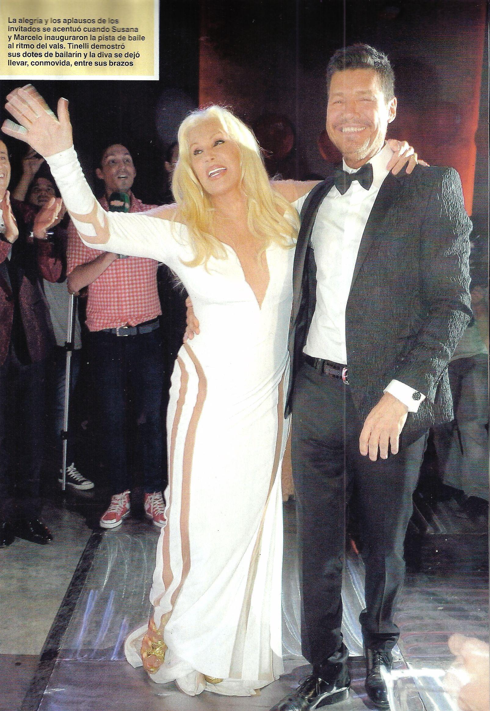 Como nunca los viste: todas las fotos de Susana Giménez y Marcelo Tinelli juntos en la Gala de Caras