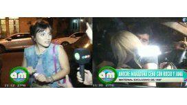 Gianinna habló de Jana; Maradona y Rocío a los besos en las Cañitas