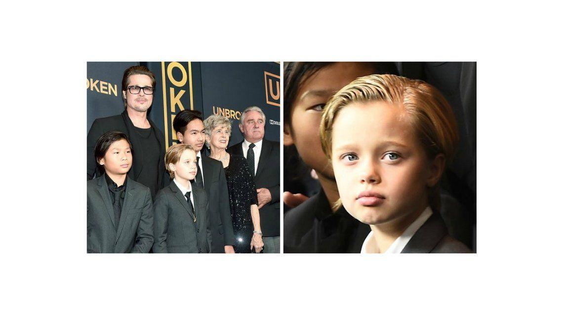 Angelina Jolie habló sobre el estilo masculino de su hija mayor