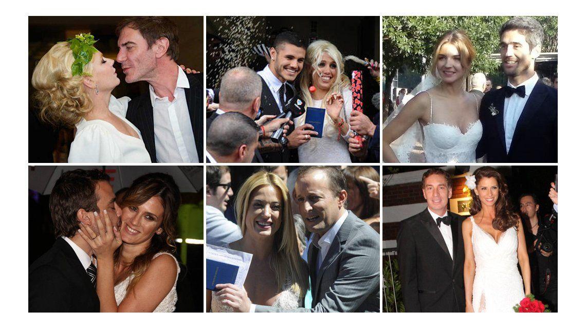 Estos fueron los casamientos del año