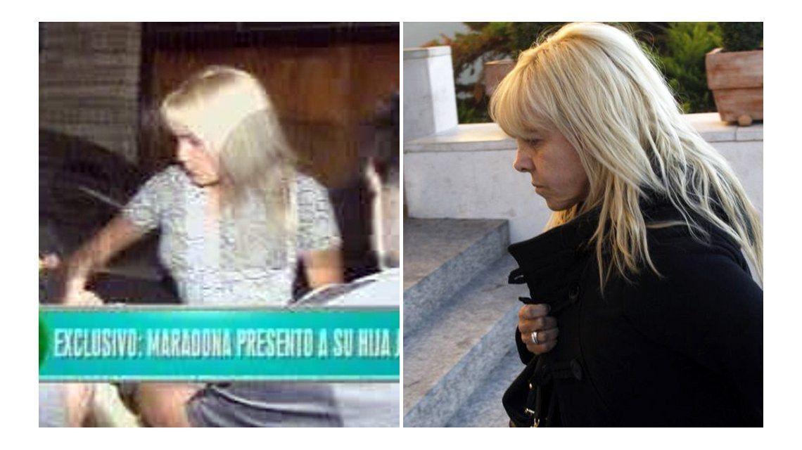 Rocío Oliva quiere ser Claudia Villafañe: le copia el look a la ex de Diego