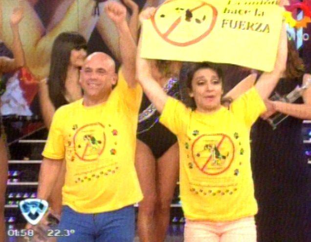 Ganó el humor: con el 59,42 % de los votos, Anita y el Bicho, campeones