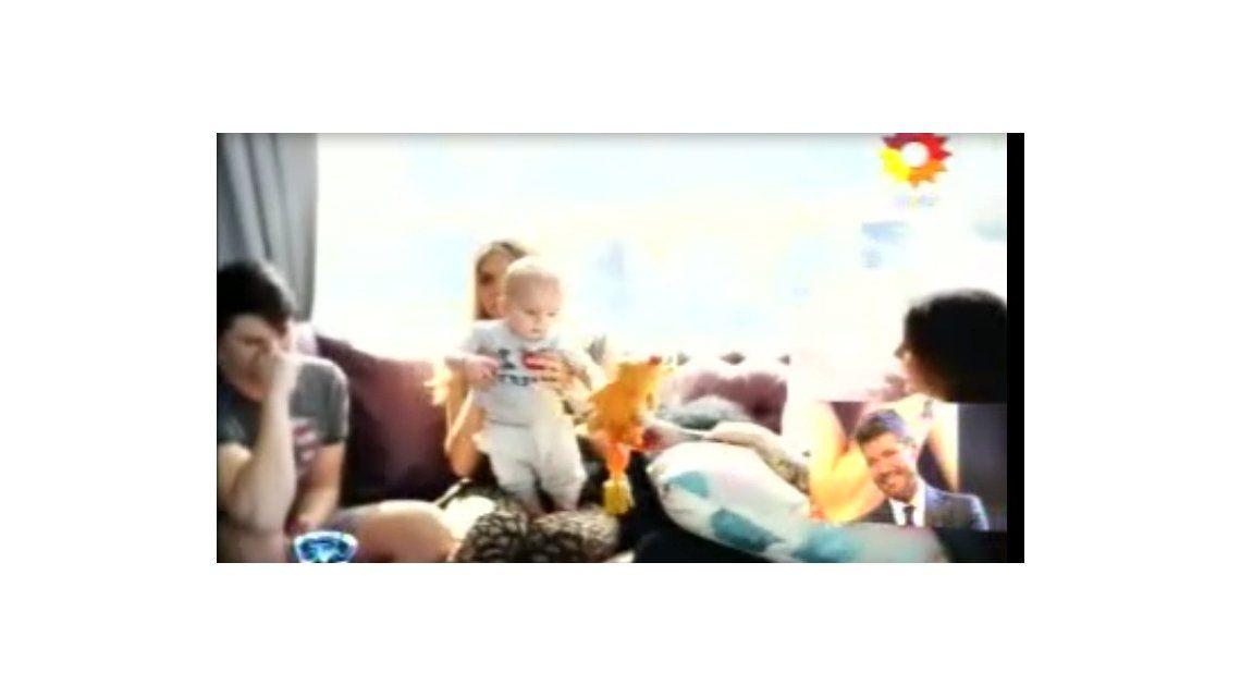 El dedicado video de los hijos de Marcelo Tinelli: la emoción del conductor
