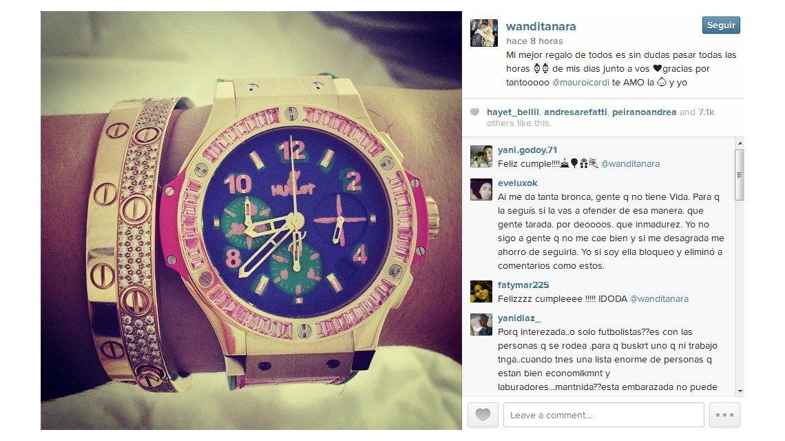 El regalo grasa de Mauro Icardi que Wanda Nara disimula para mostrarlo: ¿Cuánto costó?