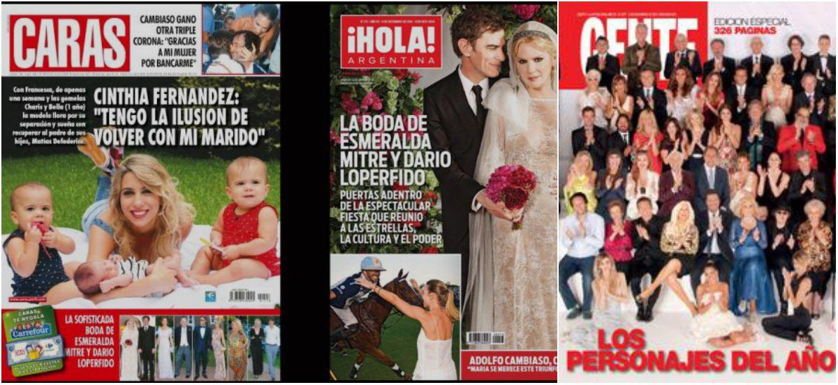 Los personajes del año de Gente; la ilusión de Cinthia Fernández; y la boda de Esmeralda Mitre y Darío Lopérfido