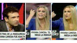 Canosa se descargó en Zapping y De Bellis criticó el informe