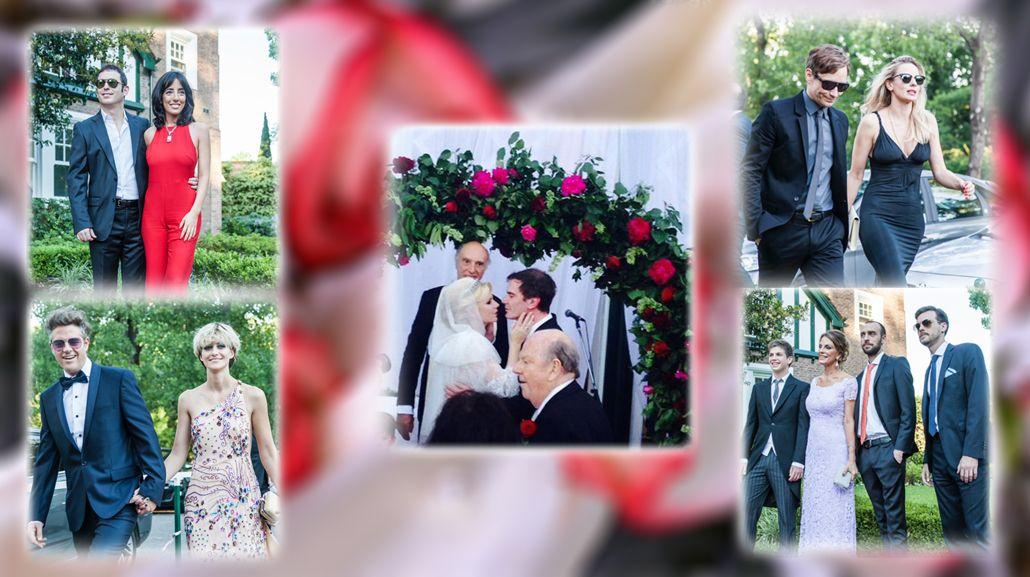 La intimidad de la boda de Esmeralda Mitre y Darío Loperfido y el look de los famosos