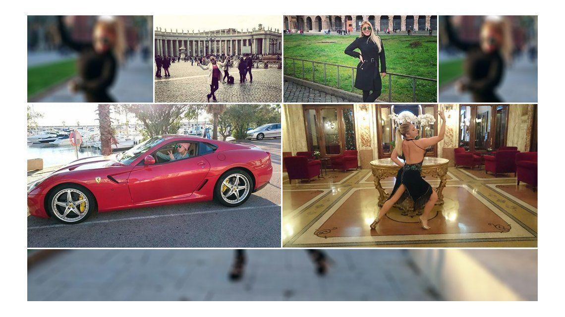 ¿Qué hace Ayelén Paleo en un auto de lujo?