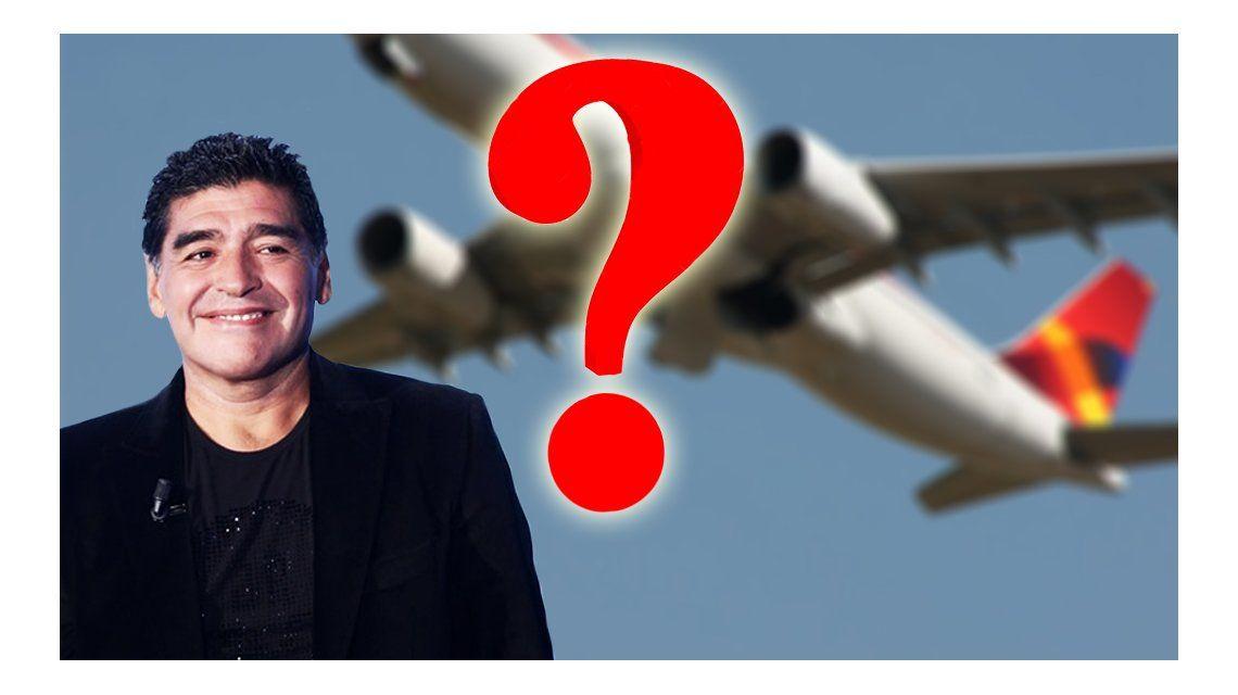 El sorpresivo viaje de Diego Maradona: ¿A qué destino irá el exfutbolista?