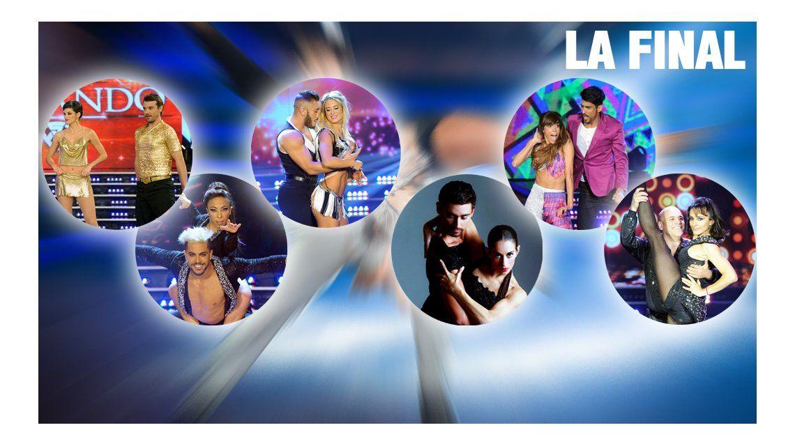 Los finalistas del Bailando: los pro y los contra de cada una de las parejas