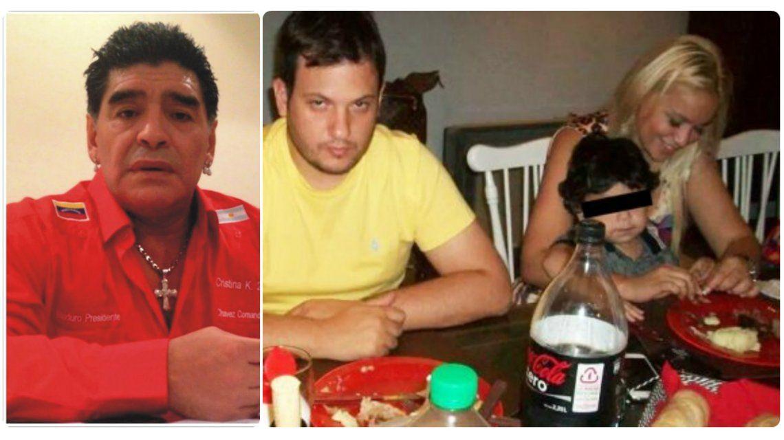 Hizo viajar de urgencia a su abogado a Dubai por la foto de su hijo con el novio de Verónica Ojeda