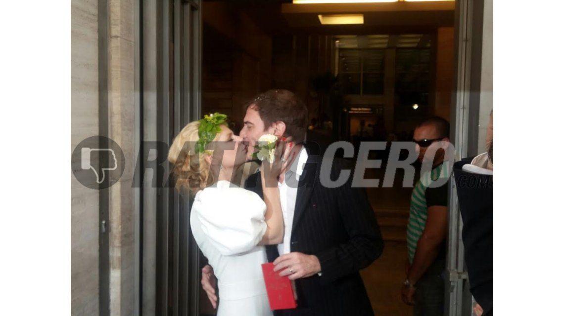 Se casaron la actriz Esmeralda Mitre y Darío Lopérfido