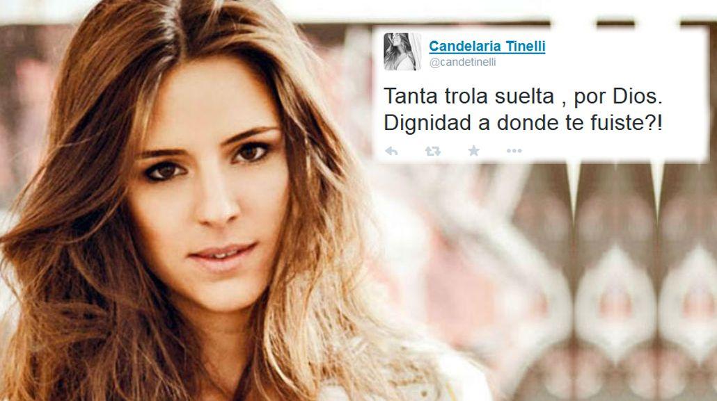 La furia de Candelaria Tinelli en Twitter: Tanta trola suelta; Dignidad, ¿a dónde te fuiste?