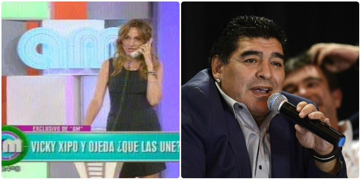 Vero Lozano llamó a Diego Maradona en vivo: ¿Cómo reaccionó el futbolista?