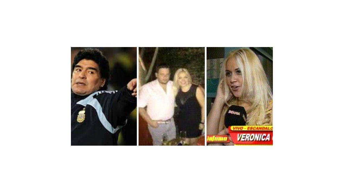 La reacción de Diego Maradona cuando Verónica Ojeda le contó de su nuevo romance: Hablamos el domingo y ...