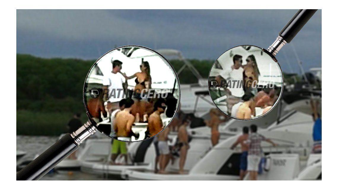 Juan Martín del Potro, de fiesta todo el día: primero en un barco con mujeres y después en el boliche