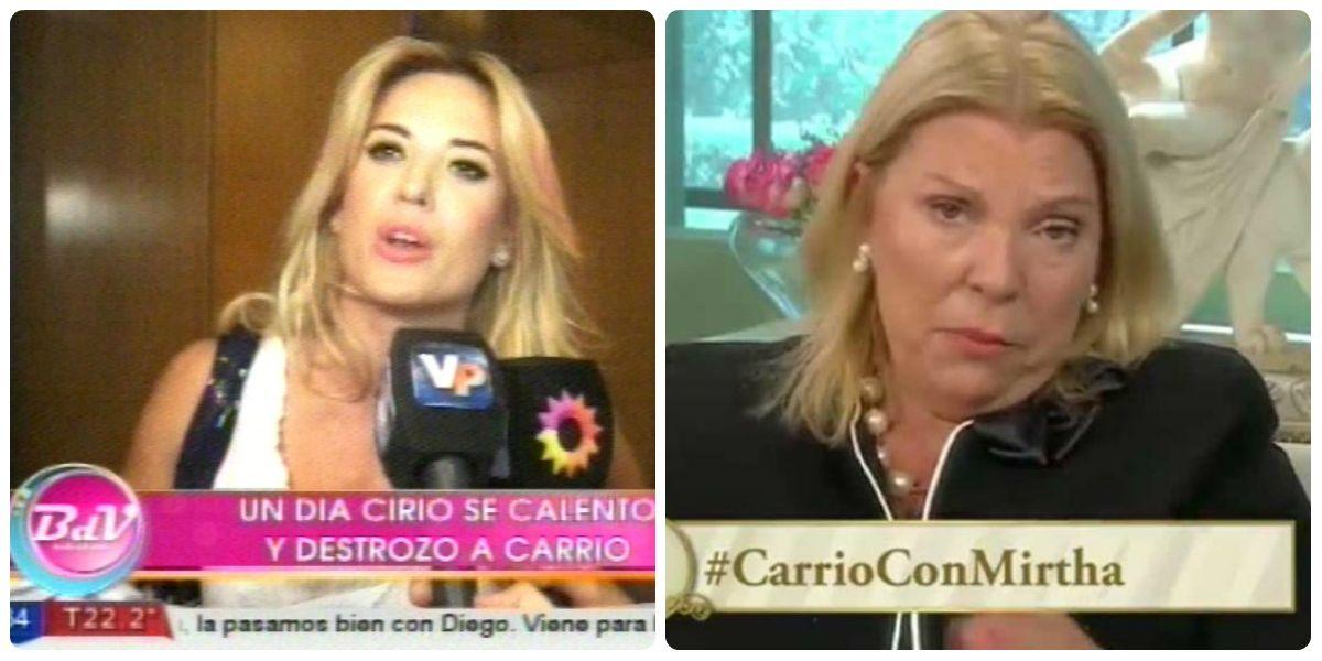 Jésica Cirio, furiosa con Lilita Carrió: Me da vergüenza; mi plata la gané con honra