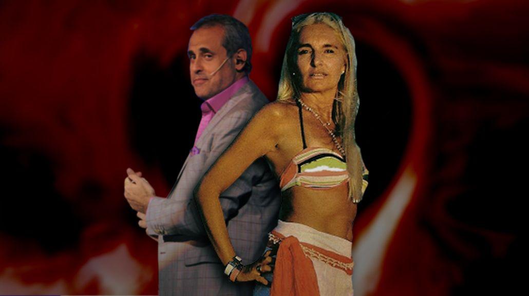 Jorge Rial y el día que Silvia Dauro lo quiso reconquistar: lo obligó a poner una mano en su seno