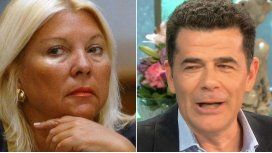 Lilita Carrió vs. Julián Weich en la mesa de Mirtha: Qué pesado sos eh?