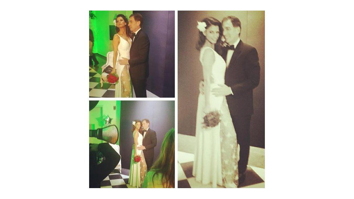 El álbum de la fiesta de casamiento de Diego Santilli y Analía Maiorana