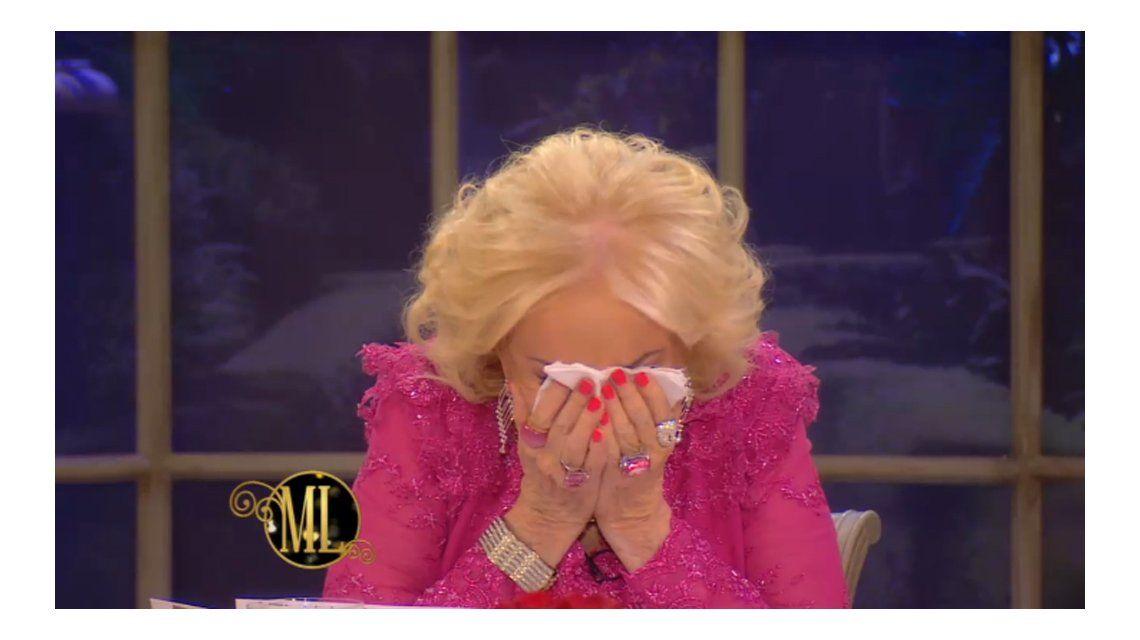 Mirtha Legrand lloró en su programa tras la difícil confesión de Julio Bocca