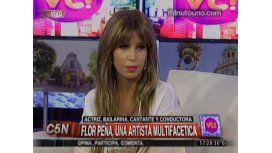 Florencia Peña comparó el fenómeno de El Chavo con Casados con hijos