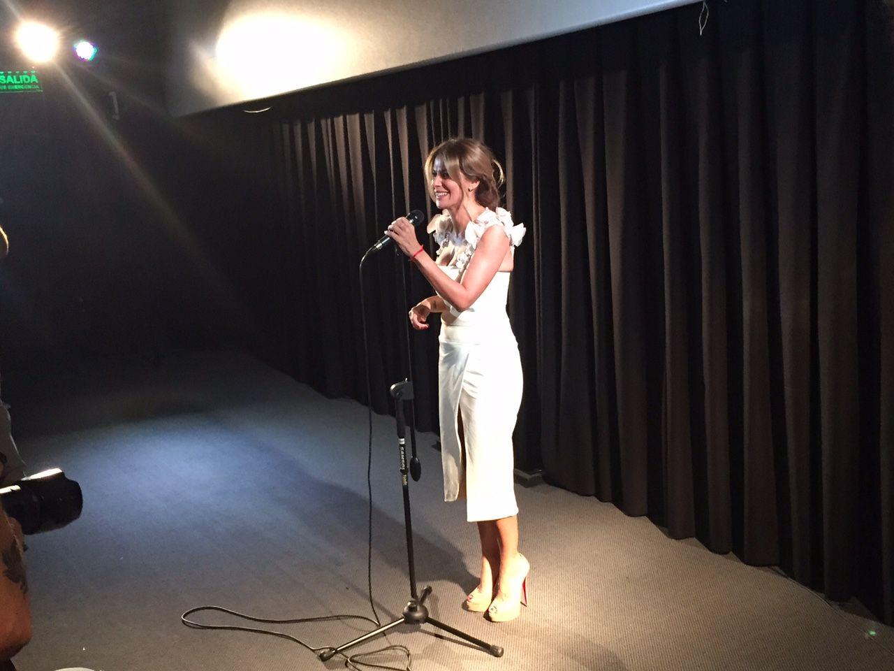 Flavia Palmiero, emocionada a 30 años de Evita, quien quiera oír que oiga