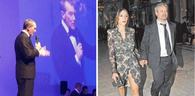 Escándalo: Antonio Banderas se quiso levantar a Victoria Vannucci, y al lado estaba Matías Garfunkel