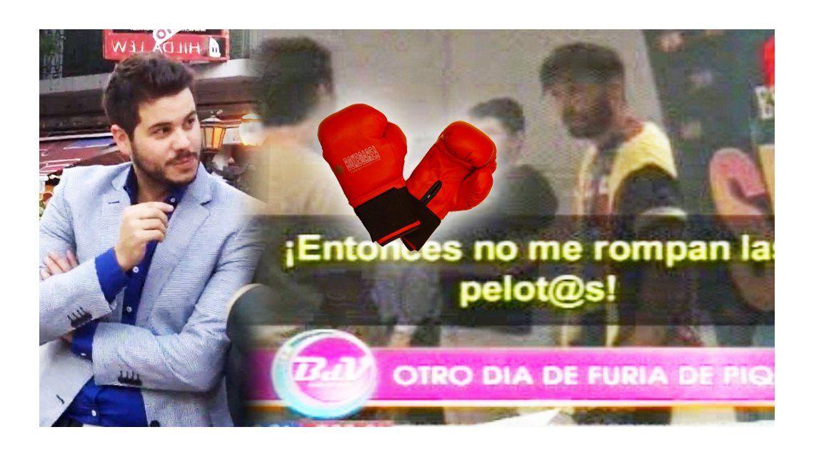 Hernán Piquín y Nico Magaldi casi a las piñas: Estoy harto de que me meta el dedo en el c...