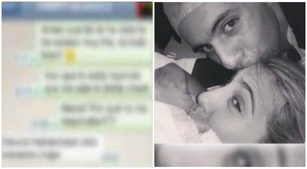 Un mensaje de whatsapp escracha a Matías Defederico: Justo ahora se le ocurre parir...