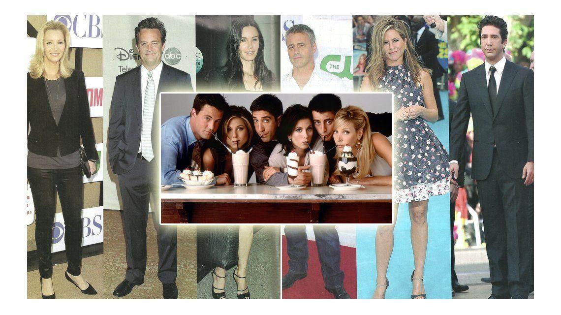 Cómo están los protagonistas de Friends, a veinte años de su estreno