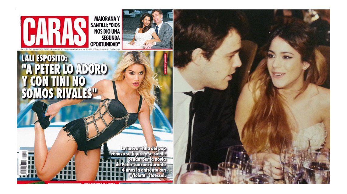 Lali Espósito criticó el título sobre Peter Lanzani y Tini Stoessel: Es vacío y sin sentido