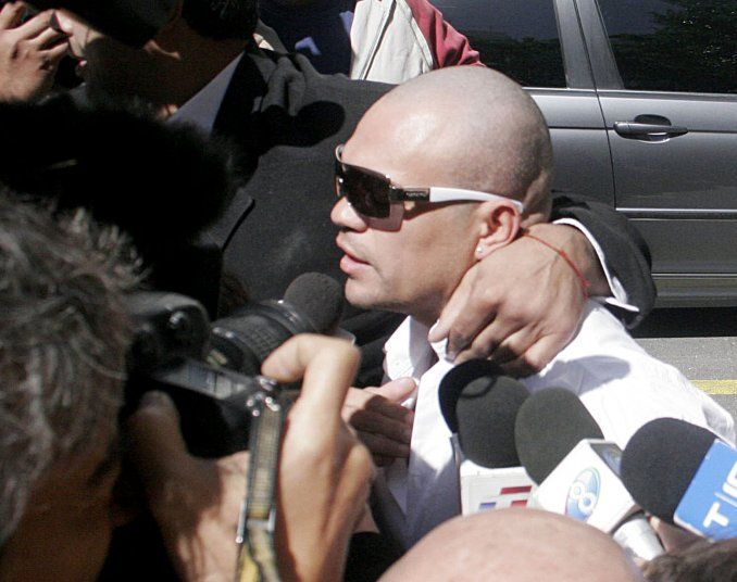 Detuvieron a la Hiena Barrios por el accidente en Mar del Plata