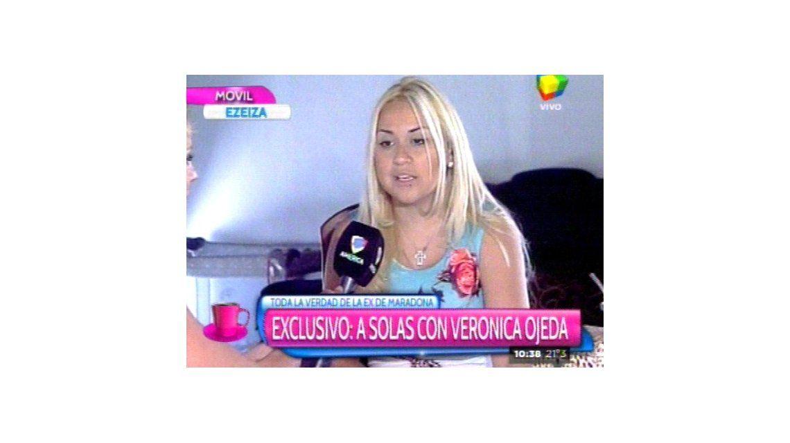 Verónica Ojeda: La última vez que fui a Dubai me di cuenta que no volvería con Diego