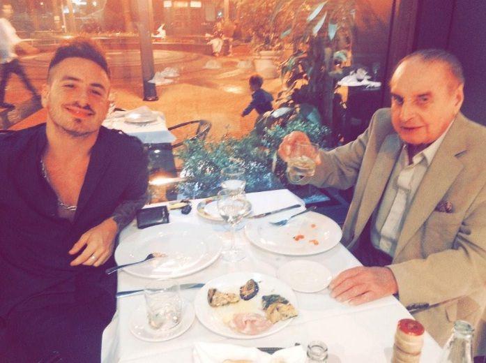 En plena recuperación, Santiago Bal vuelve a salir con su hijo Fede: Dale toro