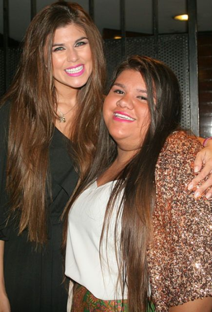 Loly Antoniale y Morena Rial fueron a un recital ochentoso