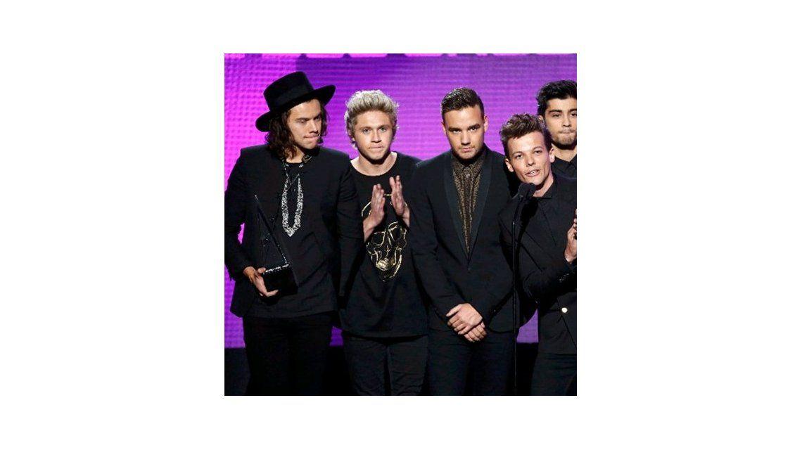 One Direction arrasó en los American Music Awards