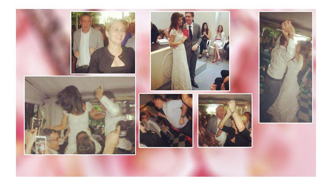 Las fotos de la fiesta del casamiento de Analía Maiorana y Diego Santilli
