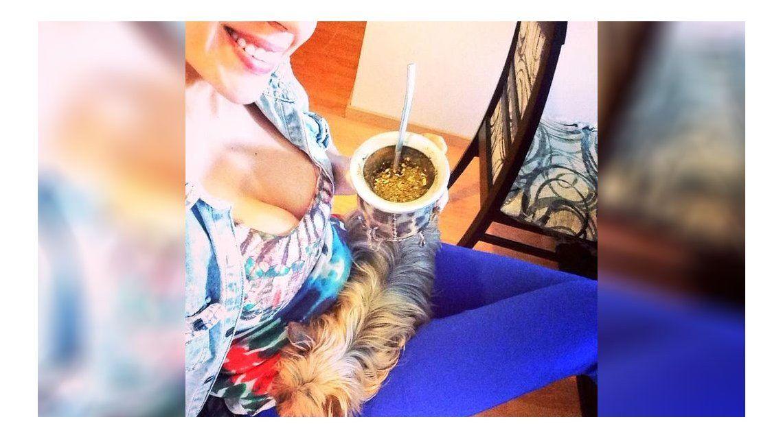 La foto sensual de sábado que compartió Virginia Gallardo en las redes sociales