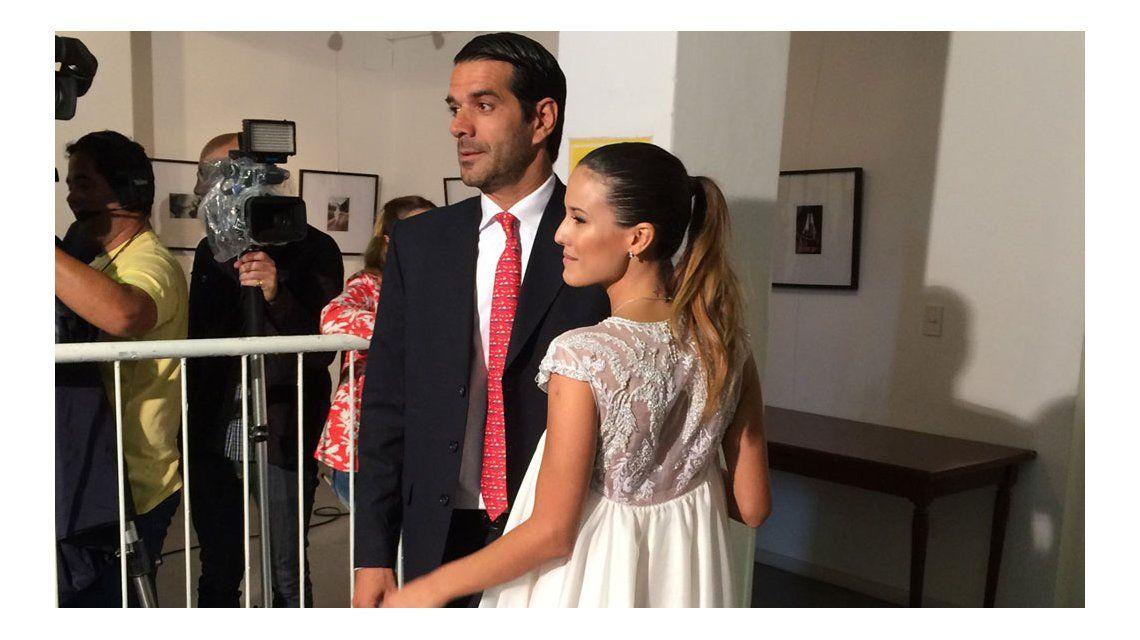 Se casó Luli Fernández