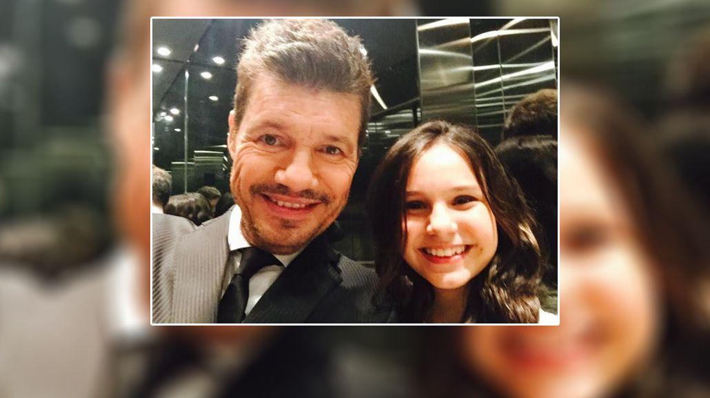 El mensaje de Marcelo Tinelli a su hija Juana: Feliz cumple amor mío