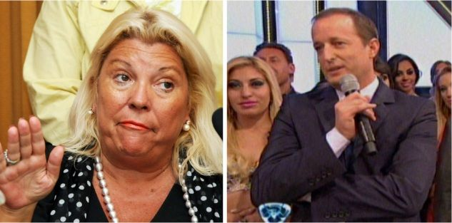 Carrió dijo de Cirio: Un gato será primera dama; Insaurralde contestó en vivo