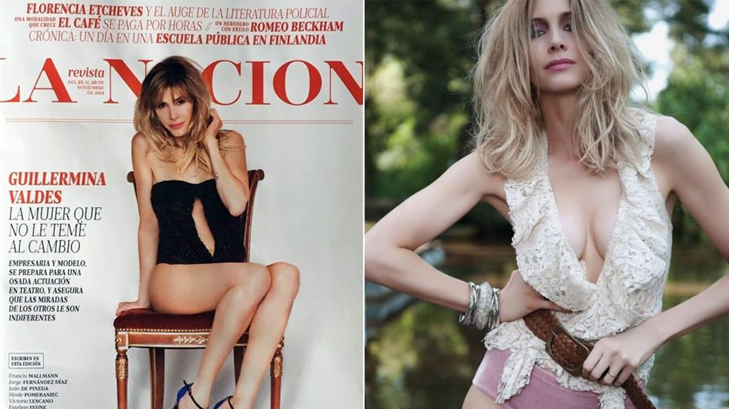 La producción hiper sensual de Guillermina Valdes