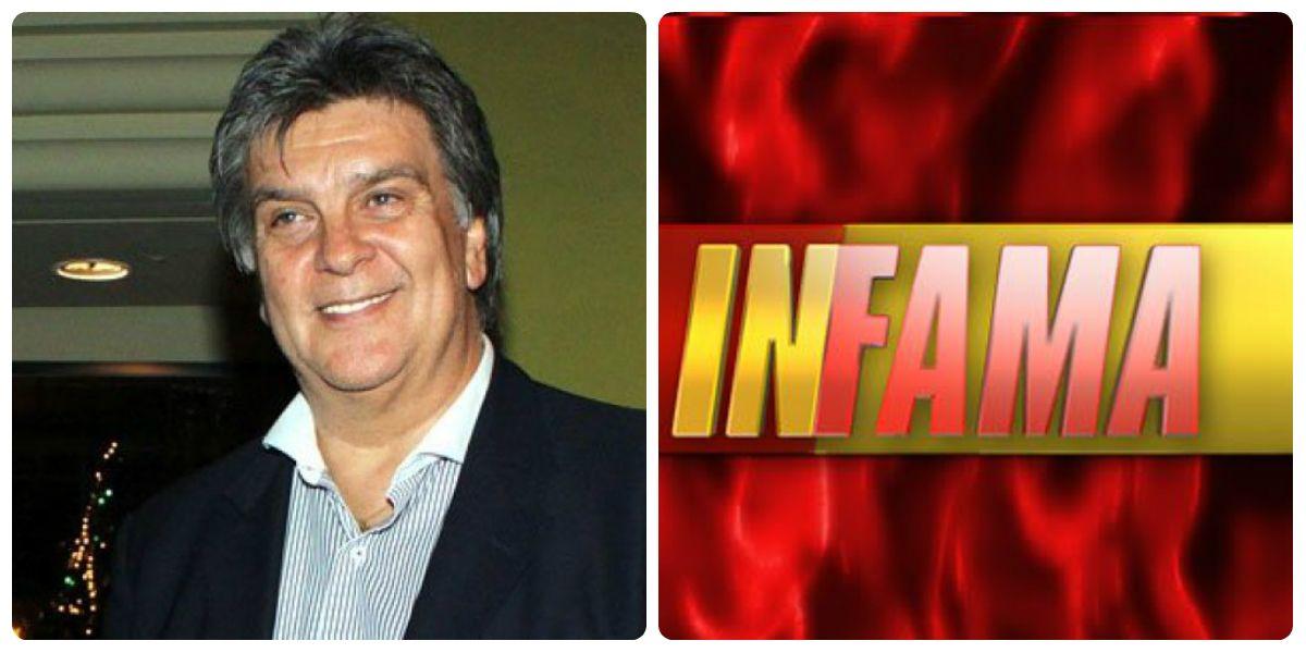 ¿Luis Ventura, conductor de Infama?