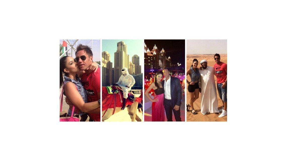 Las vacaciones de Alejo Clérici, el jefe del entorno de Maradona, y su novia Celeste Muriega