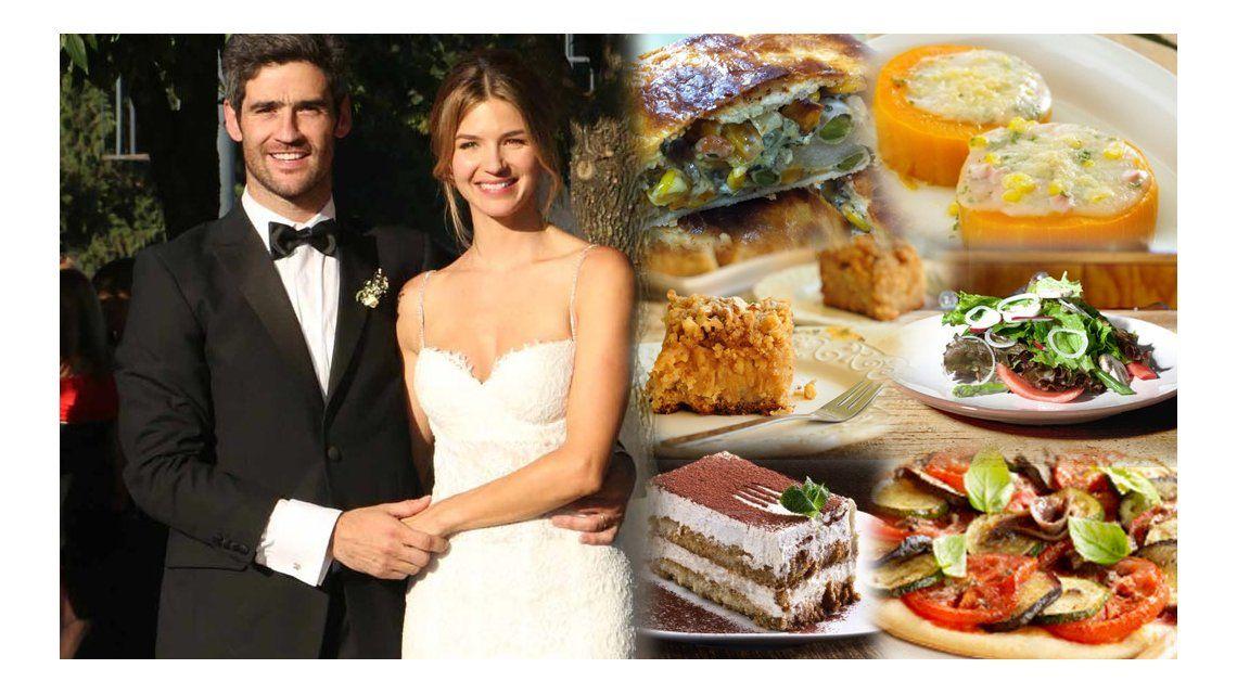 El insólito menú del casamiento de Marcela Kloosterboer