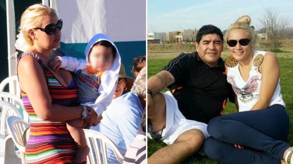 La furia de Ojeda: desde que Maradona volvió con Rocío, ya no se ocupa de su hijo