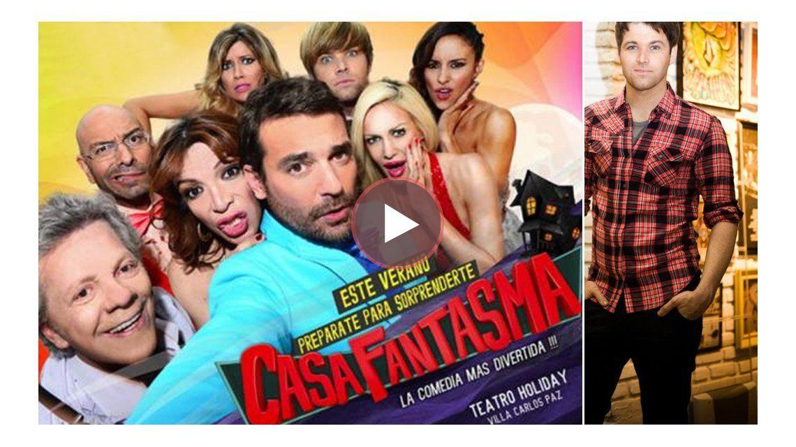La cortina musical de Casa Fantasma: la canta Benjamín Amadeo y acá te la presentamos