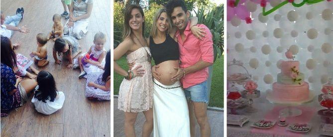 El divertido baby shower de Cinthia Fernández: familia, amigos y famosos